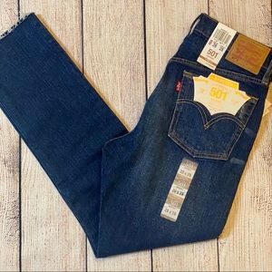 Levis 501 High-rise 28x28 Skinny Jeans NWT